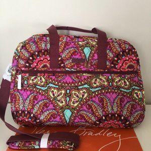 Vera Bradley Resort Medallion Medium TRAVELER Bag